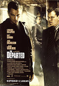 The Departed 2006 Movie poster Leonardo di Caprio Martin Scorsese