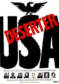 Deserter USA 1969 Movie poster Lars Lambert