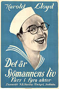 A Sailor-Made Man 1924 Movie poster Harold Lloyd Fred C Newmeyer