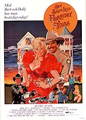 The Best Little Whorehouse in Texas 1982 poster Dolly Parton
