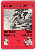 The Deadly Trackers 1974 poster Richard Harris Barry Shear