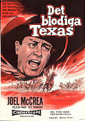 The First Texan 1956 poster Joel McCrea Byron Haskin