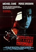 The Fourth Protocol 1987 Movie poster Michael Caine