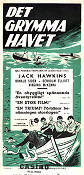 The Cruel Sea 1953 poster Jack Hawkins