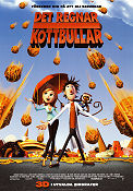 Cloudy with a Chance of Meatballs 2009 poster Phil Lord