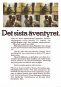 Det sista äventyret 1974 Movie poster Göran Stangertz Jan Halldoff
