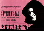 The Seventh Seal 1957 poster Gunnar Björnstrand Ingmar Bergman