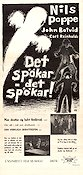 Det sp�kar det sp�kar 1943 Movie poster Nils Poppe