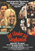 Det t�nder p� s�ngkanten 1971 Movie poster Ole S�ltoft