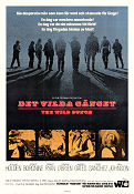 The Wild Bunch 1969 poster William Holden Sam Peckinpah