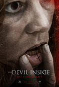 The Devil Inside 2012 poster Fernanda Andrade William Brent Bell