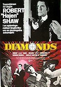 Diamonds 1976 Movie poster Robert Shaw
