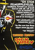 Dick Tracy 1990 poster Al Pacino Warren Beatty