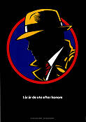 Dick Tracy 1990 Movie poster Madonna Warren Beatty