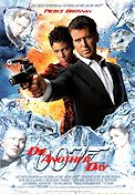 Die Another Day 2002 poster Pierce Brosnan