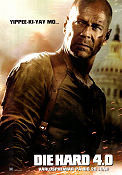 Die Hard 4 2007 poster Bruce Willis
