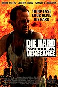 Die Hard with a Vengeance 1995 poster Bruce Willis John McTiernan
