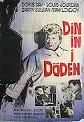 Julie 1957 Movie poster Doris Day