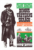 Dirty Dingus Magee 1971 Movie poster Frank Sinatra
