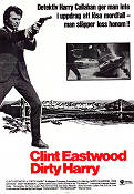 Dirty Harry 1972 Movie poster Clint Eastwood Don Siegel