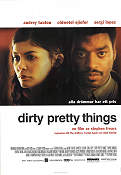 Dirty Pretty Things 2003 Movie poster Audrey Tautou Stephen Frears