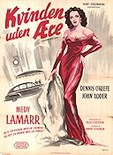 Dishonored Lady 1947 Movie poster Hedy Lamarr