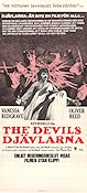 The Devils 1972 Movie poster Vanessa Redgrave