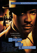 Devil in a Blue Dress 1995 Movie poster Denzel Washington