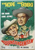 Call Me Bwana 1963 Movie poster Bob Hope