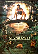 The Jungle Book 1994 Movie poster Jason Scott Lee