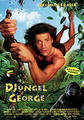 George of the Jungle 1997 poster Brendan Fraser