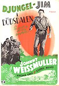 Jungle Jim 1948 Movie poster Johnny Weissmuller