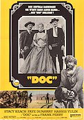 Doc 1972 Movie poster Stacy Keach