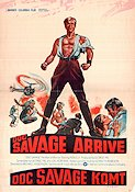 Doc Savage The Man of Bronze 1975 poster Ron Ely