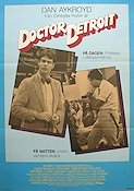 Doctor Detroit 1983 Movie poster Dan Aykroyd