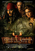 Pirates of the Caribbean: Dead Man´s Chest 2006 poster Johnny Depp Gore Verbinski