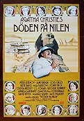 Death on the Nile 1978 Movie poster Peter Ustinov