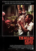 The Killing Fields 1984 poster Sam Waterston Roland Joffe