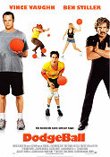 DodgeBall 2004 Movie poster Vince Vaughn