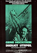 Night Moves 1975 Movie poster Gene Hackman Arthur Penn
