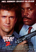 Lethal Weapon 2 1989 Movie poster Mel Gibson