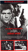 Lethal Weapon 1987 Movie poster Mel Gibson