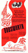 Dodsworth 1936 Movie poster Walter Huston William Wyler