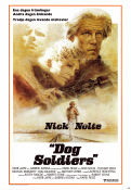 Who´ll Stop the Rain 1978 poster Nick Nolte Karel Reisz