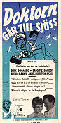 Doctor at Sea 1955 poster Dirk Bogarde