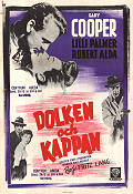 Cloak and Dagger 1947 Movie poster Gary Cooper Fritz Lang