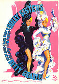 The Dolly Sisters 1945 poster Betty Grable Irving Cummings