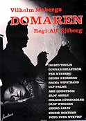 Domaren 1960 Movie poster Ingrid Thulin Alf Sjöberg