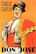 Don José 1916 Movie poster Charlie Chaplin