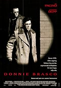 Donnie Brasco 1995 poster Al Pacino Mike Newell